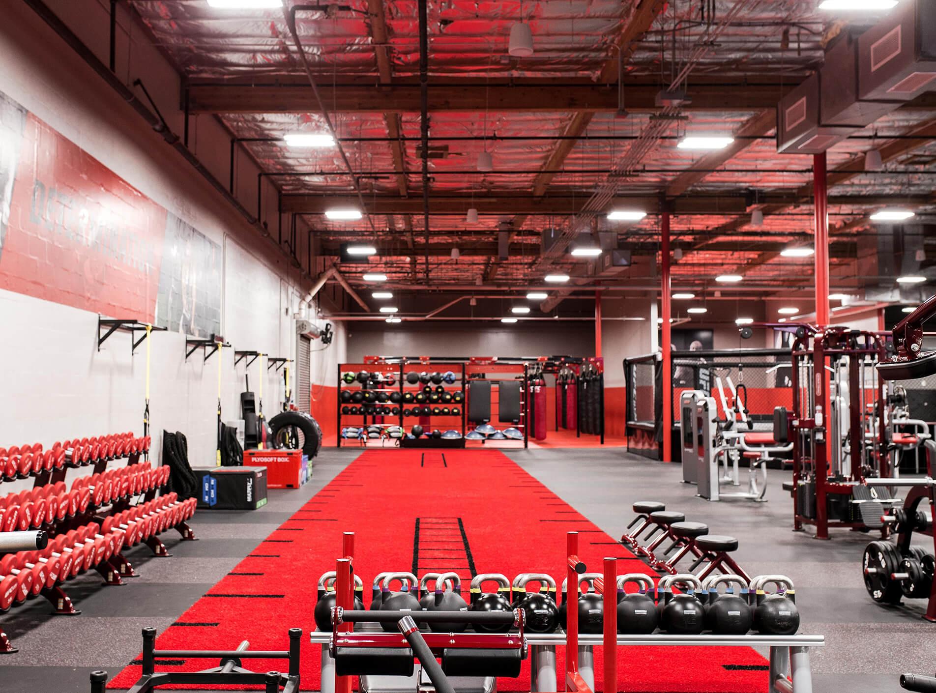 Ufc gym layout updated